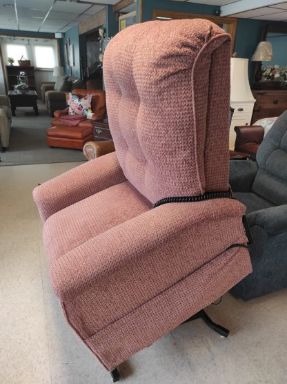 MAUVE LIFT CHAIR BY PRIDE 3