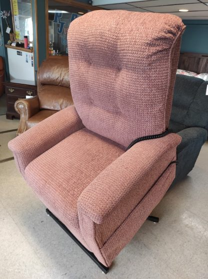 MAUVE LIFT CHAIR BY PRIDE 1