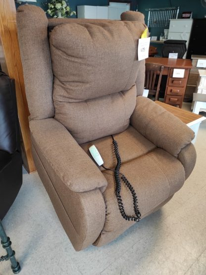 BROWN LIFT CHAIR WITH HEADREST POWER 1