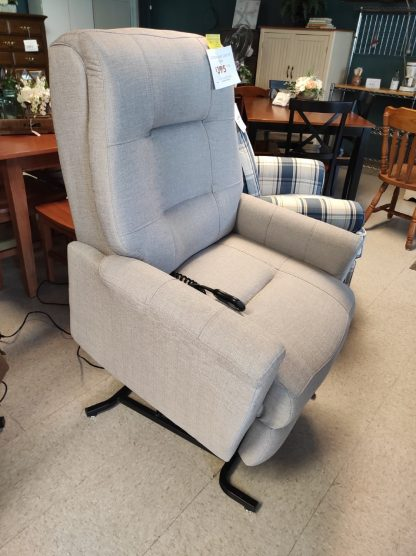 CONTEMPORARY GRAY LIFT CHAIR 1