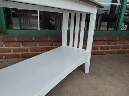 PAINTED ETHAN ALLEN SOFA TABLE 3