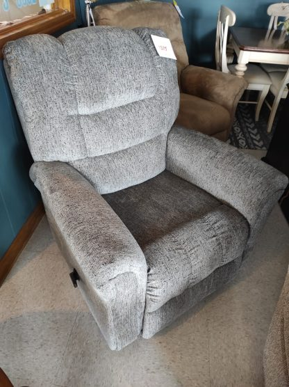 NEW SMOKE COLORED RECLINER 1