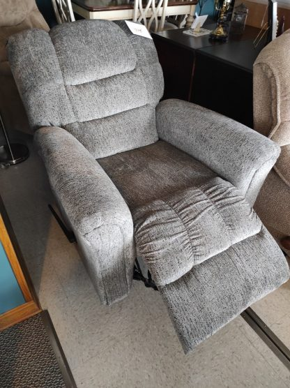 NEW SMOKE COLORED RECLINER 2