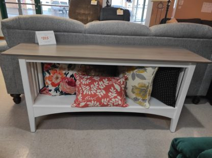 PAINTED ETHAN ALLEN SOFA TABLE 6