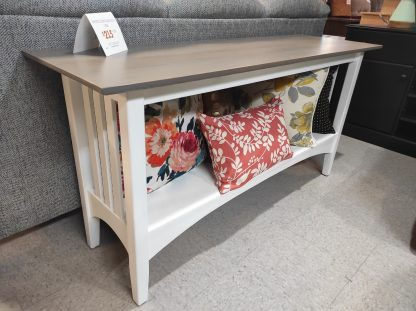 PAINTED ETHAN ALLEN SOFA TABLE 1