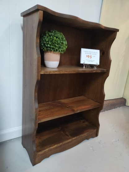 SMALL SCALE BOOKCASE WITH CURVED EDGES 2