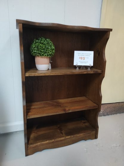 SMALL SCALE BOOKCASE WITH CURVED EDGES 1