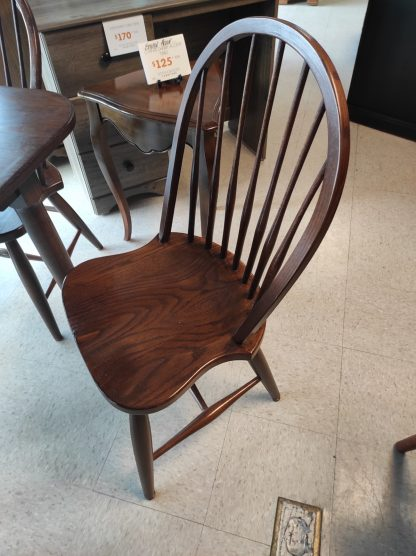 SOLID WOOD- PINE TABLE WITH 6 CHAIRS 3