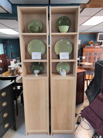 NATURAL COLORED STORAGE CABINETS 1