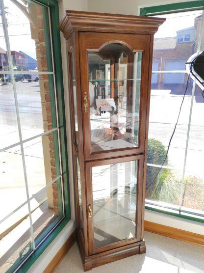 GLASS CHERRY CURIO CABINET 1