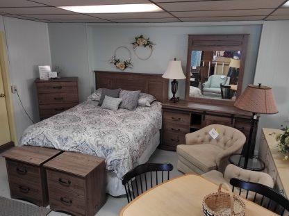 NEW INDUSTRIAL BEDROOM SET 1