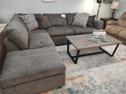 TABBY BROWN SECTIONAL WITH CHAISE END 3