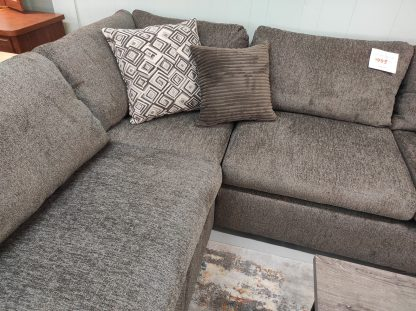 TABBY BROWN SECTIONAL WITH CHAISE END 4