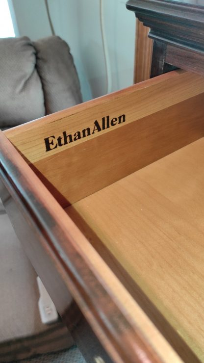 SOLID CHERRY 7 DRAWER CHEST BY ETHAN ALLEN 1
