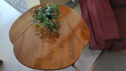DROPLEAF MAPLE END TABLE BY ETHAN ALLEN 2