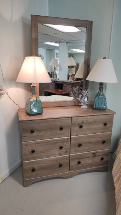 TWIN SIZE WEATHERED GRAY BEDROOM SUITE 2