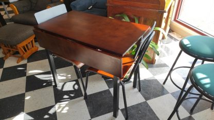 TWO TONE DROP LEAF TABLE 1