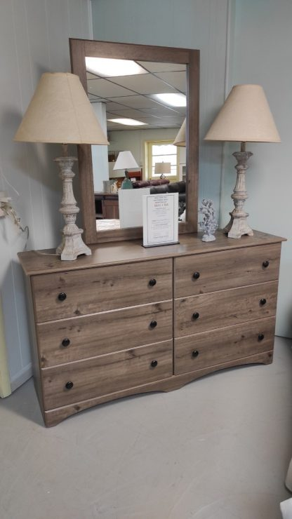 TWIN SIZE WEATHERED GRAY BEDROOM SUITE 5