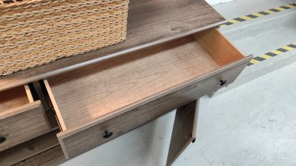 NEW! WEATHERED GRAY TV STAND 2