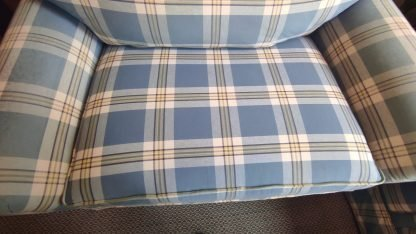 COTTAGE BLUE SOFA & CHAIR MADE BY HALLAGAN 4