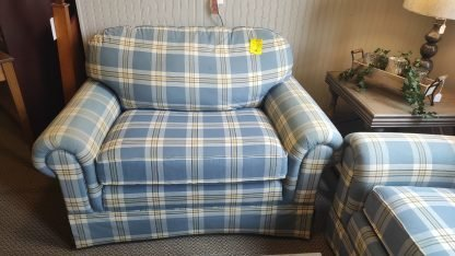 COTTAGE BLUE SOFA & CHAIR MADE BY HALLAGAN 3