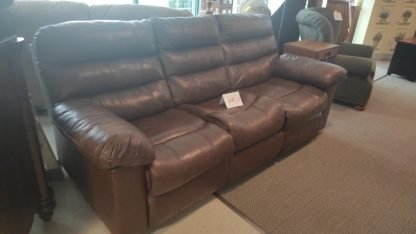 BROWN POWER RECLINING SOFA 2