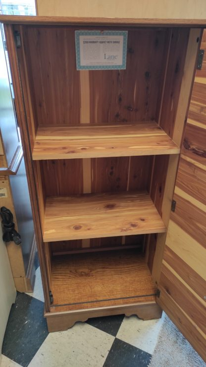 CEDAR LINED ARMOIRE, MADE BY LANE 4